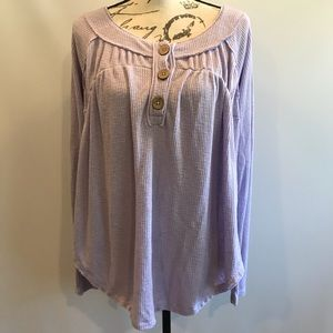 Free People Waffle Knit Tunic by We The Free